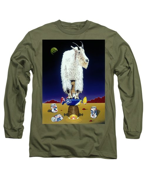 The Intoxicated Mountain Goat Long Sleeve T-Shirt