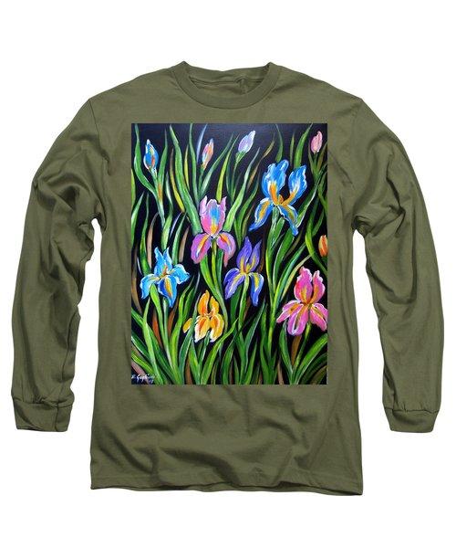 The Irises Long Sleeve T-Shirt