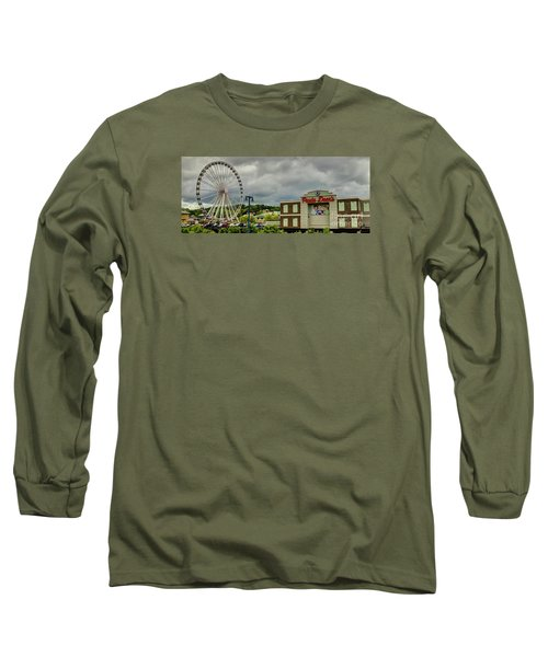 The Island Pigeon Forge Tn Long Sleeve T-Shirt