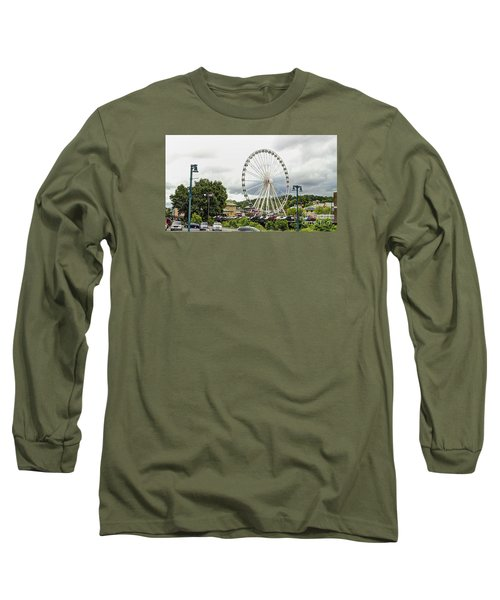 The Island Smoky Mountain Wheel Long Sleeve T-Shirt