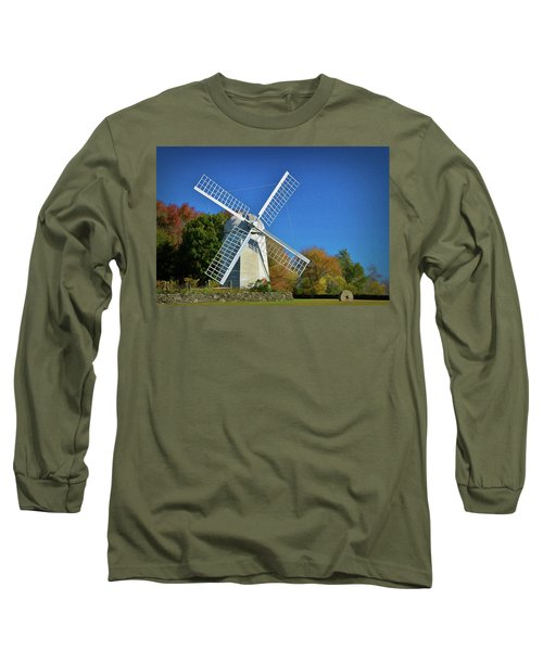 The Jamestown Windmill Long Sleeve T-Shirt