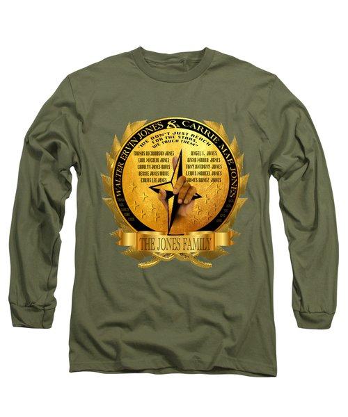 The Jones Family Crest Long Sleeve T-Shirt