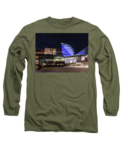 Long Sleeve T-Shirt featuring the photograph The Kentucky Center For The Performing Arts by Randy Scherkenbach