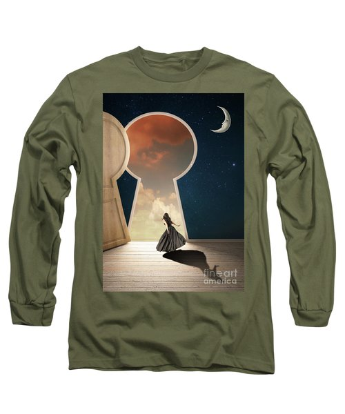 Curiouser And Curiouser Long Sleeve T-Shirt