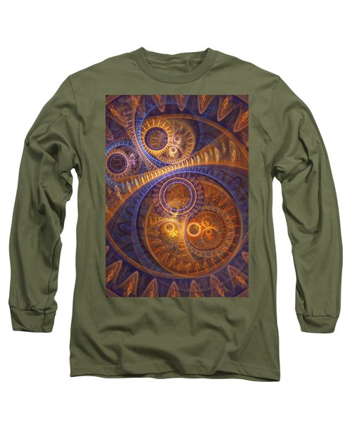 The Kinetic Design Long Sleeve T-Shirt by Martin Capek