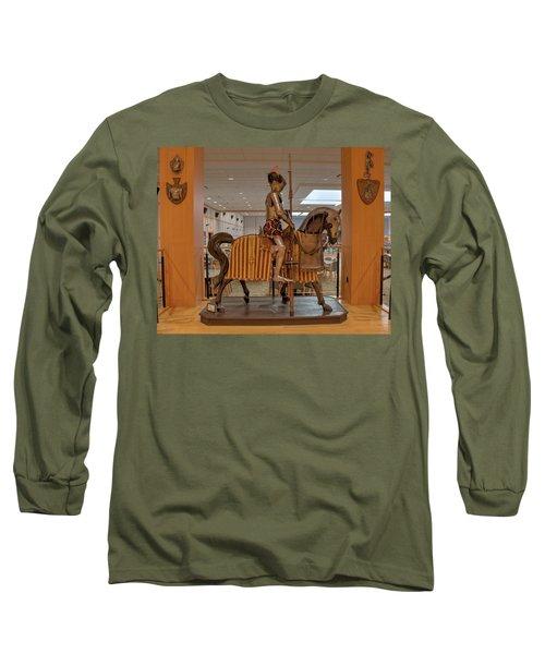 The Knight On Horseback Long Sleeve T-Shirt