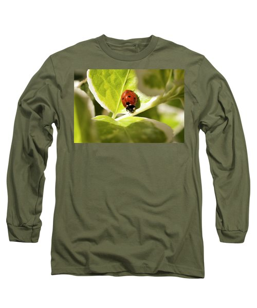 The Ladybug  Long Sleeve T-Shirt