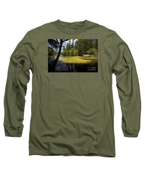 The Lake Fulmor Long Sleeve T-Shirt by Ivete Basso Photography