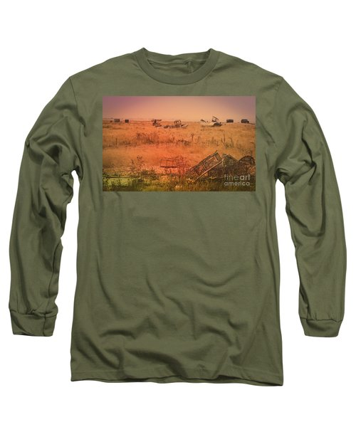 The Landscape Of Dungeness Beach, England 2 Long Sleeve T-Shirt