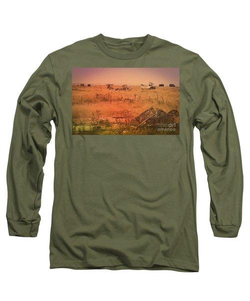 The Landscape Of Dungeness Beach, England 2 Long Sleeve T-Shirt
