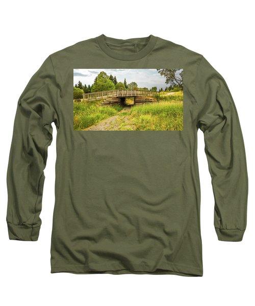 The Little Wooden Bridge Long Sleeve T-Shirt
