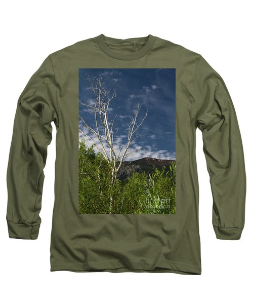 The Lonely Aspen  Long Sleeve T-Shirt