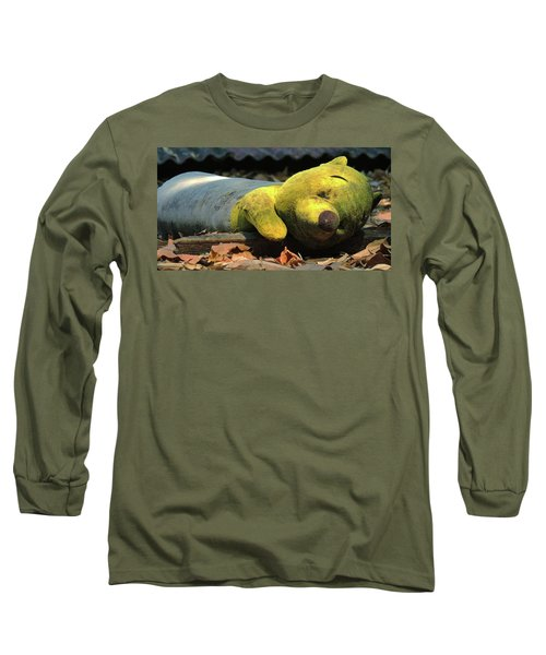 The Lonely Teddy Bear Long Sleeve T-Shirt