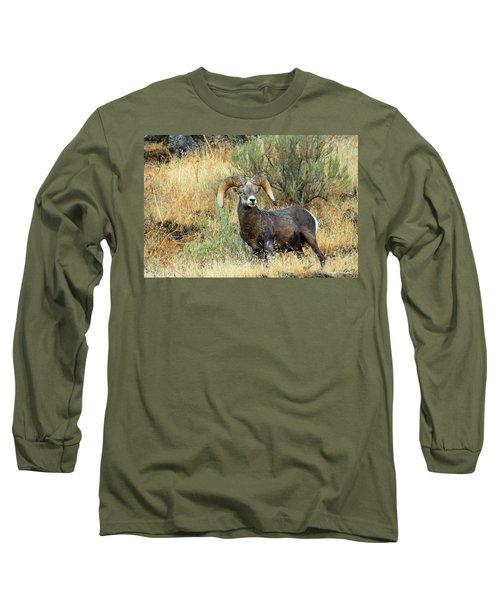 The Loner Long Sleeve T-Shirt by Steve Warnstaff