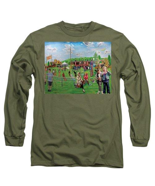 The Long Island Fair At Old Bethpage Restoration Long Sleeve T-Shirt