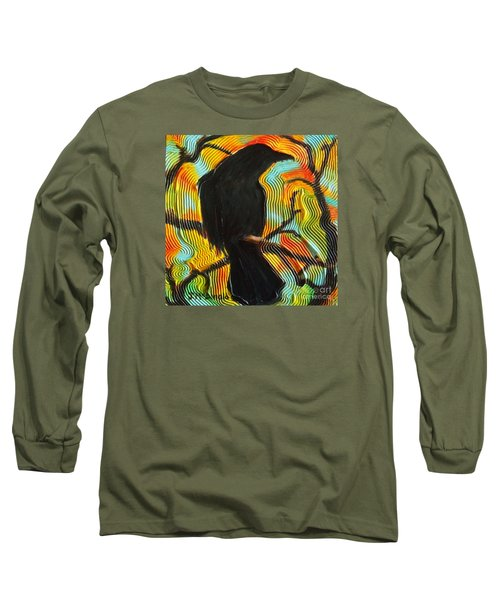 The Lookout Long Sleeve T-Shirt by Janet McDonald