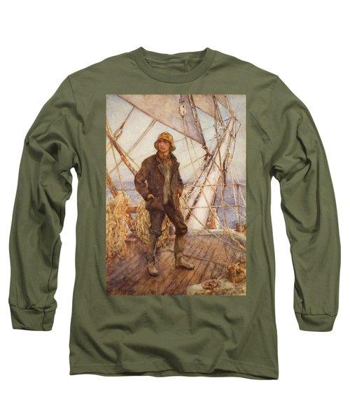 The Lookout Man  Long Sleeve T-Shirt