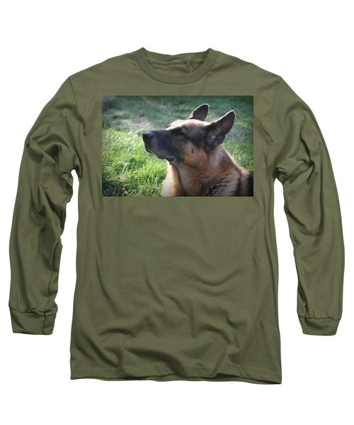 The Love Of An Old Dog Long Sleeve T-Shirt