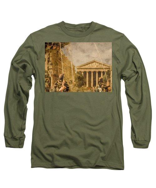 Paris, France - The Madeleine Long Sleeve T-Shirt