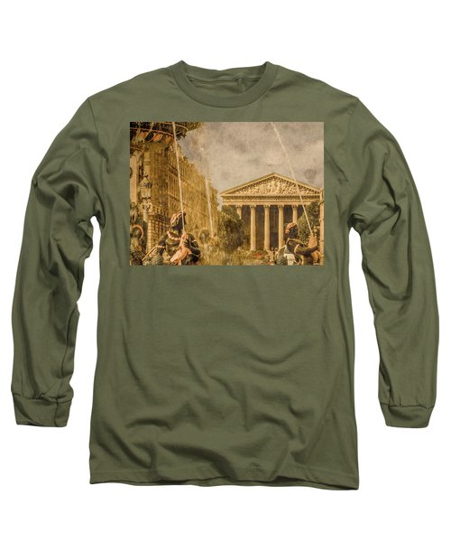 Paris, France - The Madeleine Long Sleeve T-Shirt