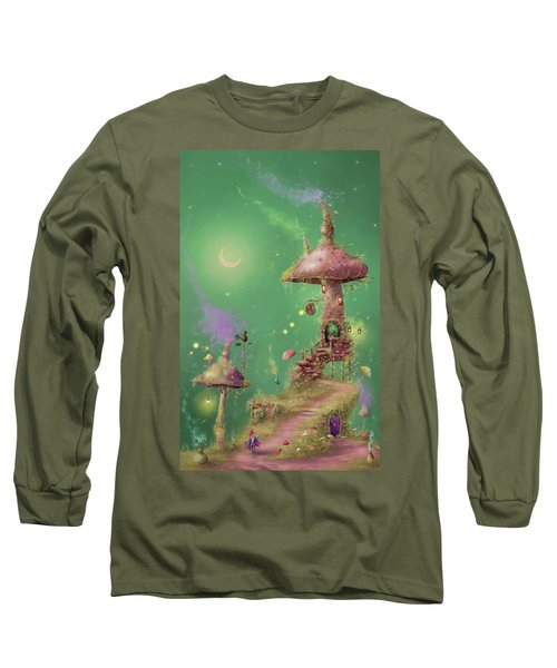 The Mushroom Gatherer Long Sleeve T-Shirt