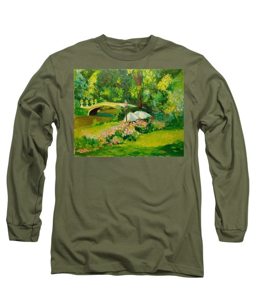 The Magnificent Bow Bridge Long Sleeve T-Shirt