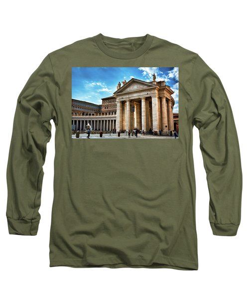 The Majesty Of The Tuscan Colonnades Long Sleeve T-Shirt