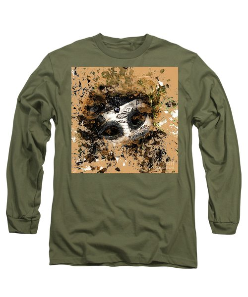 Long Sleeve T-Shirt featuring the photograph The Mask Of Fiction by LemonArt Photography