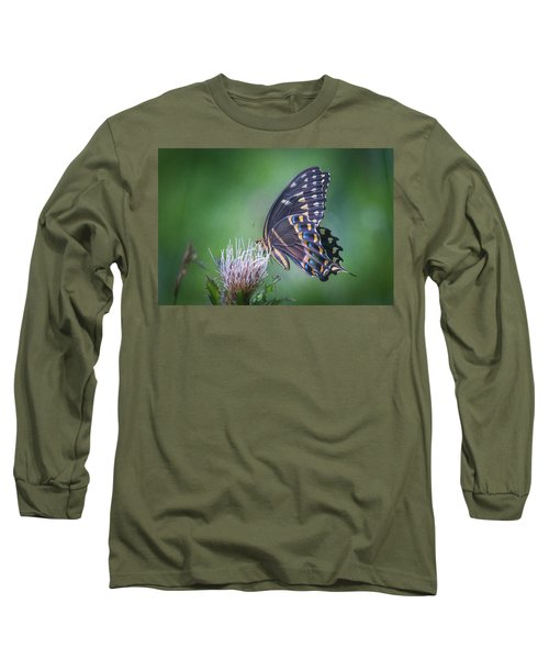 The Mattamuskeet Butterfly Long Sleeve T-Shirt