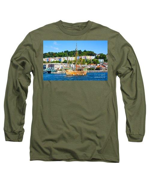 The Matthew In Bristol Harbour Long Sleeve T-Shirt