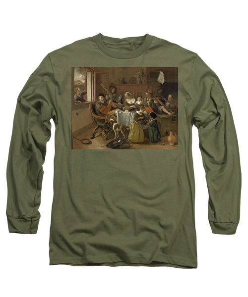 The Merry Family,1668 Long Sleeve T-Shirt