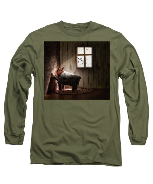 The Metamorphosis Redux Long Sleeve T-Shirt by Mark Fuller