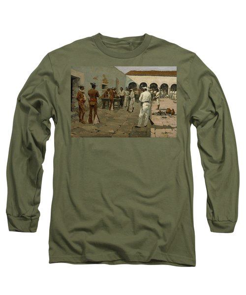 The Mier Expedition The Drawing Of The Black Bean  Long Sleeve T-Shirt