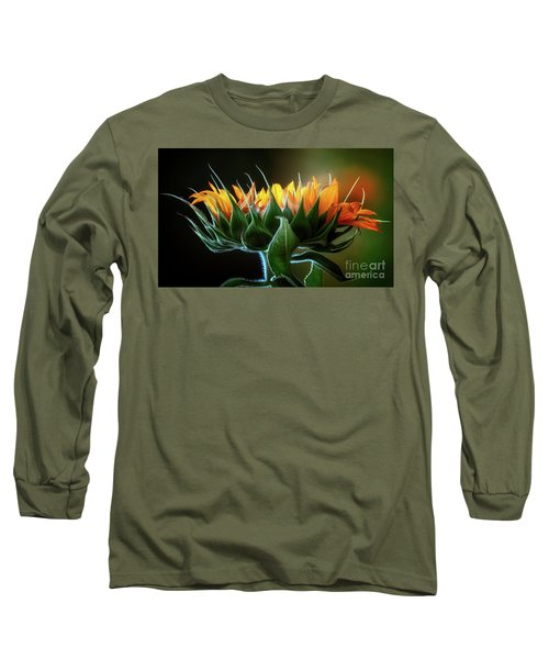 The Mighty Sunflower Long Sleeve T-Shirt