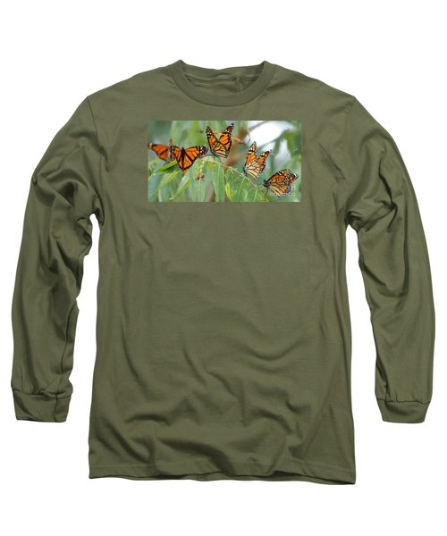 The Migration Of The Monarchs Long Sleeve T-Shirt