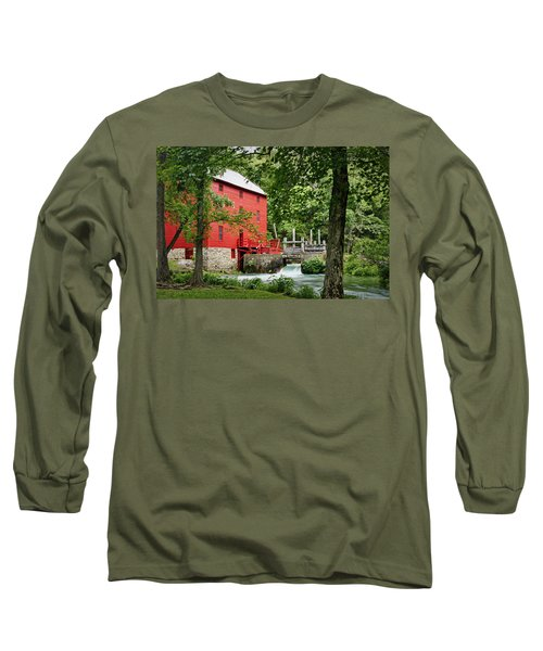 The Mill At Alley Spring Long Sleeve T-Shirt