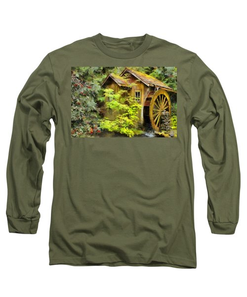 The Mill Long Sleeve T-Shirt by Eva Lechner