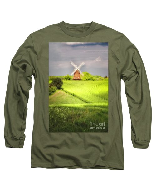 The Mill Uphill Long Sleeve T-Shirt by Jack Torcello