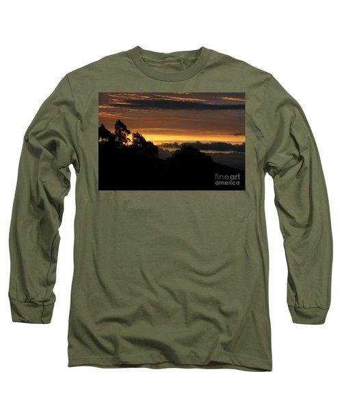 The Mountain At Sunrise Long Sleeve T-Shirt