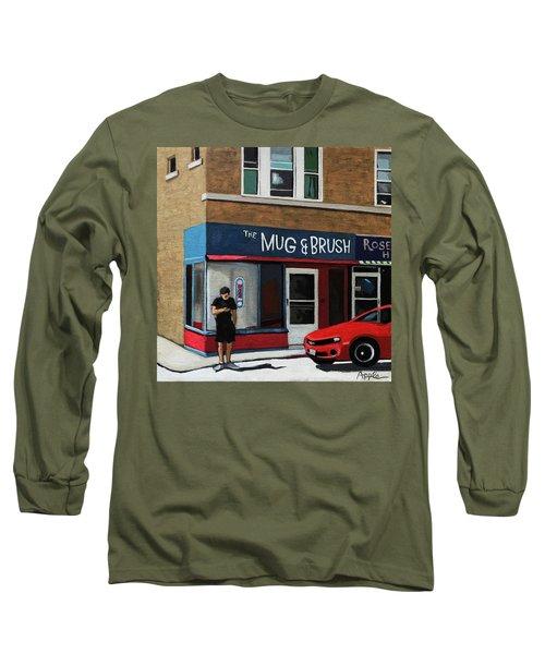 The Mug And Brush - Urban Painting Long Sleeve T-Shirt