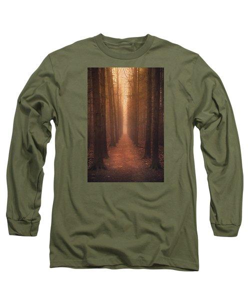 The Narrow Path Long Sleeve T-Shirt by Rob Blair