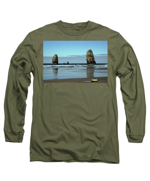 The Needles, Cannon Beach, Or Long Sleeve T-Shirt