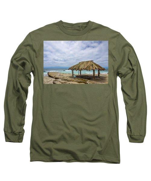 The New Surf Hut At Windandsea Long Sleeve T-Shirt