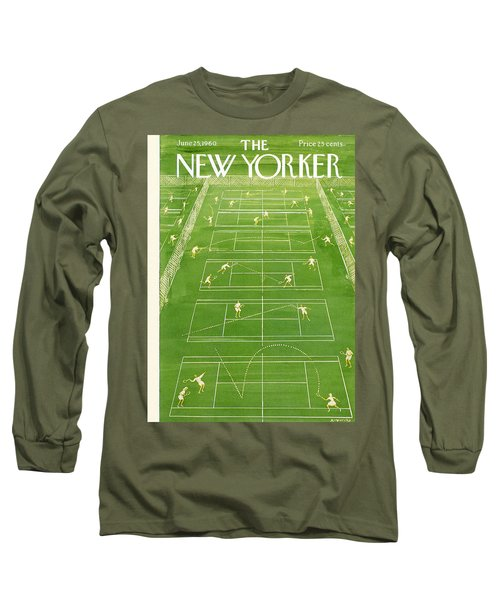 The New Yorker Cover - June 25th, 1960 Long Sleeve T-Shirt