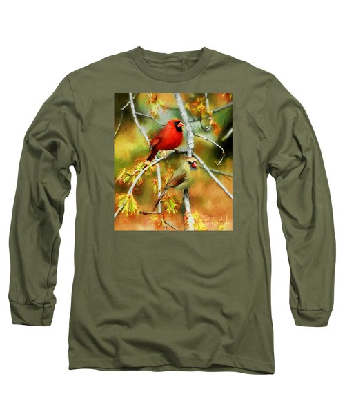 The Newlyweds Long Sleeve T-Shirt by Tina  LeCour
