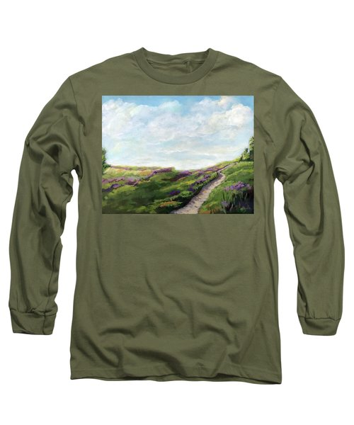 The Next Adventure - Landscape Painting Long Sleeve T-Shirt