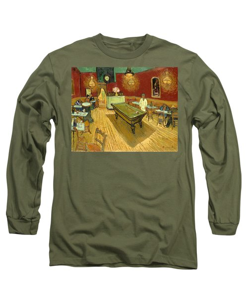 The Night Cafe Auto Contrasted Long Sleeve T-Shirt
