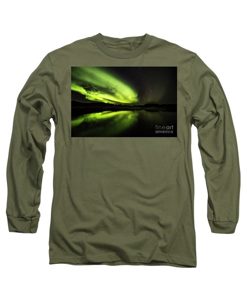 The Northern Lights Thingvellir Long Sleeve T-Shirt