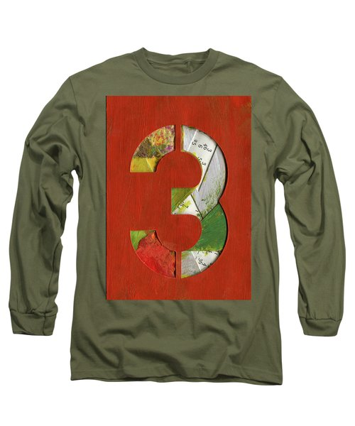 The Number 3 Long Sleeve T-Shirt