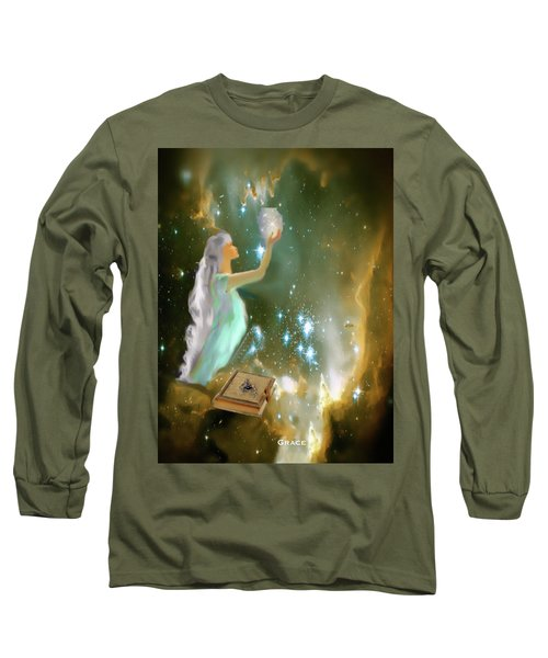 The Offering 1 Long Sleeve T-Shirt by Julie Grace